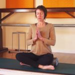 Chanting Om at Phillip island Yoga